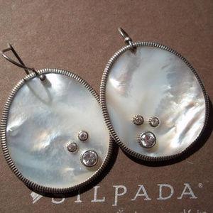 W2218 Silpada WATER DROP Earrings (b)